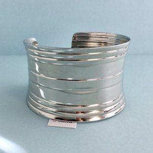 Lia Sophia Jewelry - Lia Sophia Integer Silver Tone Cuff Bracelet